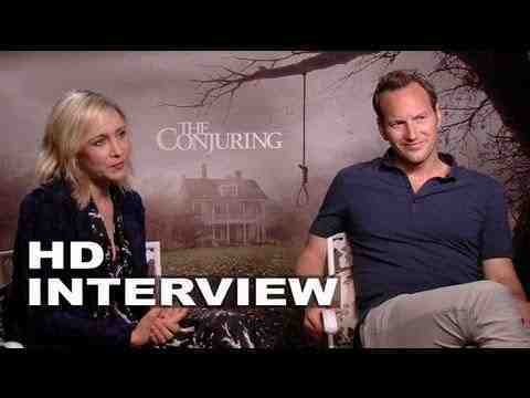 The Conjuring - Vera Farmiga & Patrick Wilson Interview