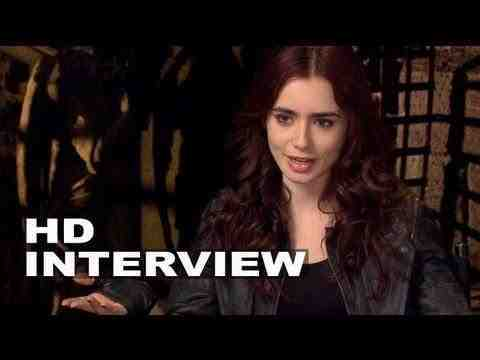 The Mortal Instruments: City of Bones - Lily Collins Interview