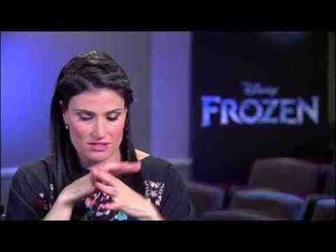 Frozen - Idina Menzel Interview