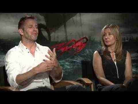 300: Rise of an Empire - Zack Snyder & Deborah Snyder Interview Part 2