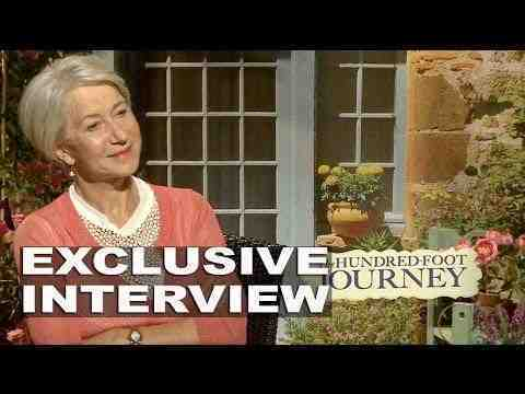 The Hundred-Foot Journey - Helen Mirren Interview