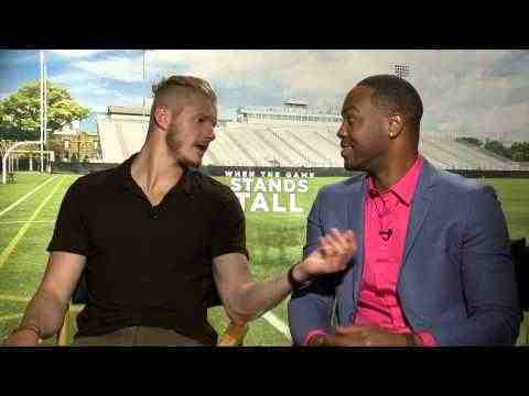 When the Game Stands Tall - Alexander Ludwig & Ser´Darius Blain Interview