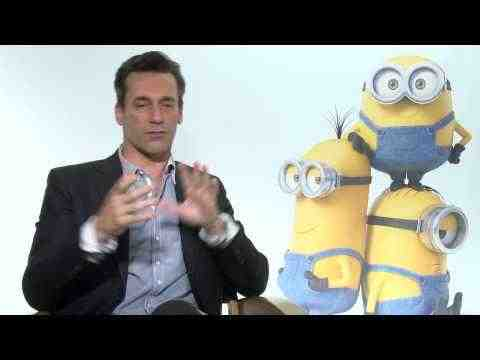 Minions - John Hamm Interview Part 1