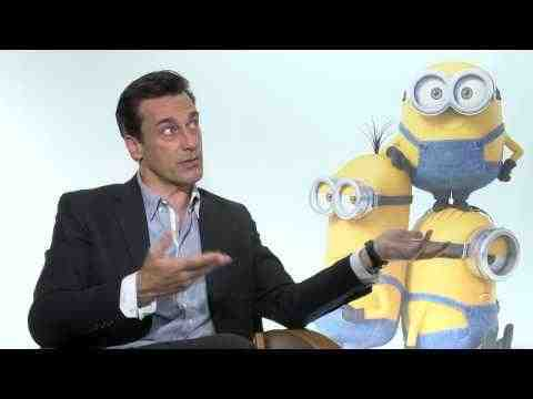 Minions - John Hamm Interview Part 2