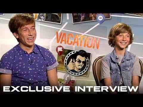 Vacation - Skyler Gisondo and Steele Stebbins Interview
